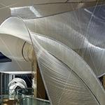 Glass artwork created by Nikolas Weinstein studios at Peirce Hill